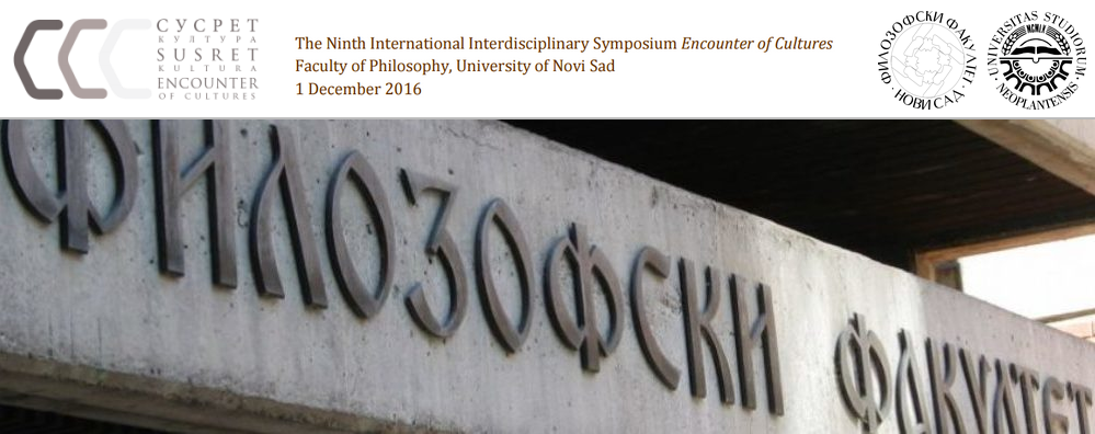 International Interdisciplinary Symposium ENCOUNTER OF CULTURES